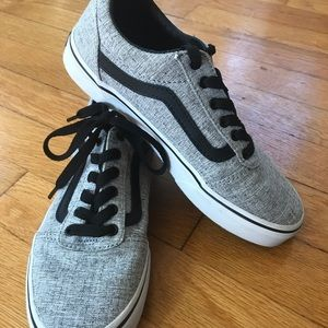 Kids gray Vans. Great condition size 2.5